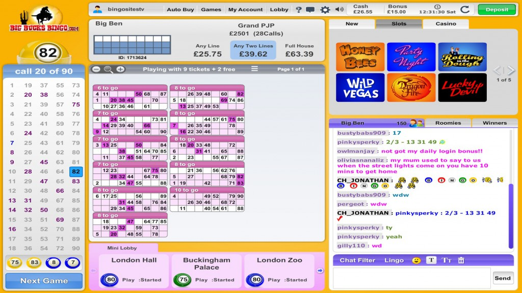 Big Bucks Bingo Review – Is this A Scam/Site to Avoid